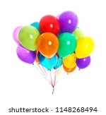 Bunch Of Colorful Balloons On...