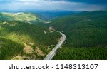aerial view of a road in the... | Shutterstock . vector #1148313107