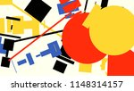 an abstract composition... | Shutterstock .eps vector #1148314157