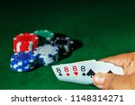 casino games concept poker... | Shutterstock . vector #1148314271