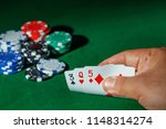 casino games concept poker... | Shutterstock . vector #1148314274