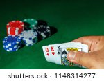 casino games concept poker... | Shutterstock . vector #1148314277