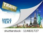 travel the world concept   Shutterstock . vector #114831727