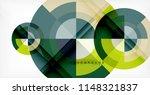 vector circle abstract... | Shutterstock .eps vector #1148321837