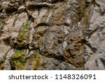 photo of a rock texture in the... | Shutterstock . vector #1148326091