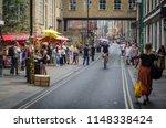 london  july  2018   brick lane ...   Shutterstock . vector #1148338424