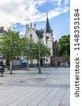 rennes  france   june 13  2016  ... | Shutterstock . vector #1148353184