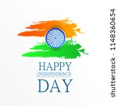 happy independence day india ... | Shutterstock .eps vector #1148360654