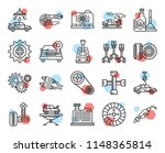 set of 20 icons such as gas...   Shutterstock .eps vector #1148365814