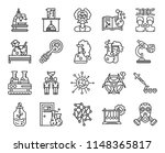 set of 20 icons such as gas... | Shutterstock .eps vector #1148365817