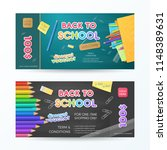 set of vector discount vouchers ... | Shutterstock .eps vector #1148389631