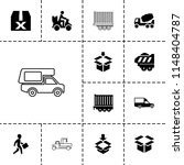 deliver icon. collection of 13... | Shutterstock .eps vector #1148404787