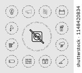 electricity icon. collection of ... | Shutterstock .eps vector #1148420834