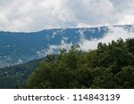 mountain smog | Shutterstock . vector #114843139