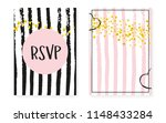 bridal shower card with dots... | Shutterstock .eps vector #1148433284