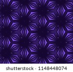 seamless hexagonal pattern from ... | Shutterstock .eps vector #1148448074