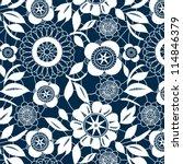 White Lace Crochet Flowers...