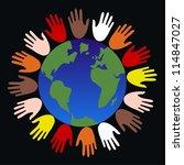 communication freedom diversity | Shutterstock .eps vector #114847027