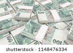 3d realistic render of 100... | Shutterstock . vector #1148476334