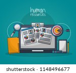 human resources related | Shutterstock .eps vector #1148496677