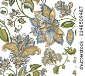 beautiful vintage ornament with ... | Shutterstock .eps vector #1148509487