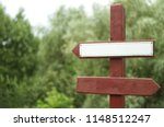 rout pointer in the park.... | Shutterstock . vector #1148512247