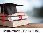 academic college degree... | Shutterstock . vector #1148518151