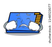 crying memory card mascot... | Shutterstock .eps vector #1148523077