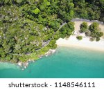 aerial view of beautiful beach... | Shutterstock . vector #1148546111
