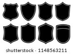 badge shape vector set | Shutterstock .eps vector #1148563211