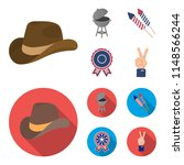 barbecue  salute  voting... | Shutterstock . vector #1148566244