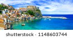 beautiful beaches and towns of ... | Shutterstock . vector #1148603744