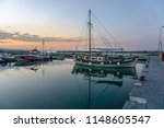 platamon greece july 10 2018 ... | Shutterstock . vector #1148605547