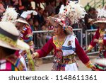 oruro  bolivia   february 26 ... | Shutterstock . vector #1148611361