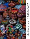 balinese beaded baskets for...   Shutterstock . vector #1148648657
