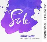hand writing lettering sale... | Shutterstock .eps vector #1148659454