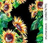 beautiful bright graphic autumn ...   Shutterstock . vector #1148676791