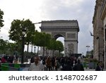 paris  france   may 12  2018 ... | Shutterstock . vector #1148702687