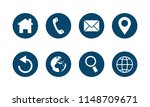 web icon set | Shutterstock .eps vector #1148709671