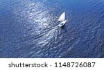 aerial. nautical sailling of a... | Shutterstock . vector #1148726087