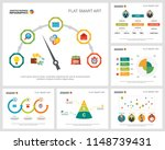 colorful marketing or...   Shutterstock .eps vector #1148739431