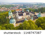 aerial view of svata hora  holy ... | Shutterstock . vector #1148747387
