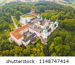 aerial view of svata hora  holy ... | Shutterstock . vector #1148747414