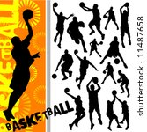 basketball | Shutterstock .eps vector #11487658