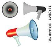 bullhorn vector | Shutterstock .eps vector #11487691