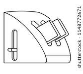 modern toaster icon. outline... | Shutterstock .eps vector #1148772671
