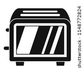 vintage toaster icon. simple... | Shutterstock .eps vector #1148772824
