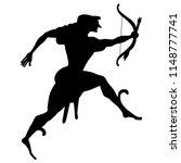 isolated vector silhouette of... | Shutterstock .eps vector #1148777741