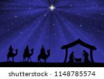 Christmas Nativity Scene  The...