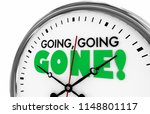 going going gone times up... | Shutterstock . vector #1148801117